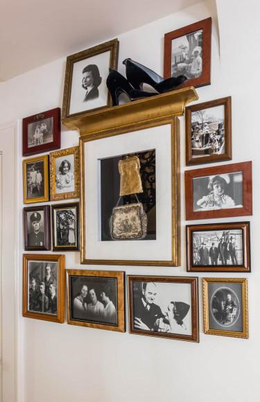 Black White Family Photos Shadow Box