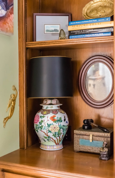 Bookshelf Styling Lamp Accessories
