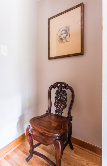 Chair Modern Art Vignette
