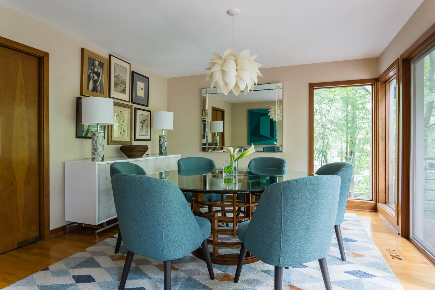 Chapel Hill Dining Room Modern Interior Design