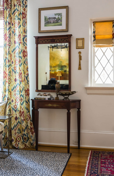 Front Hall Table Styling