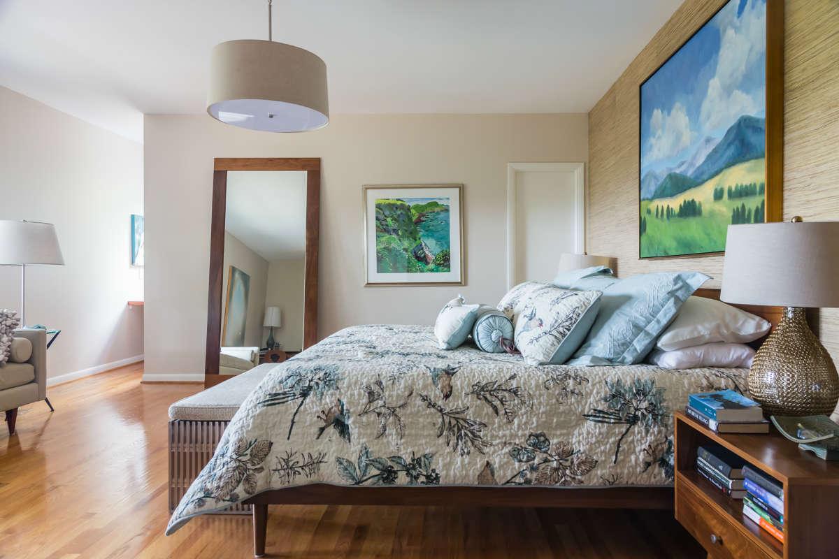 Master Bedroom Nature Serene Clean Lines