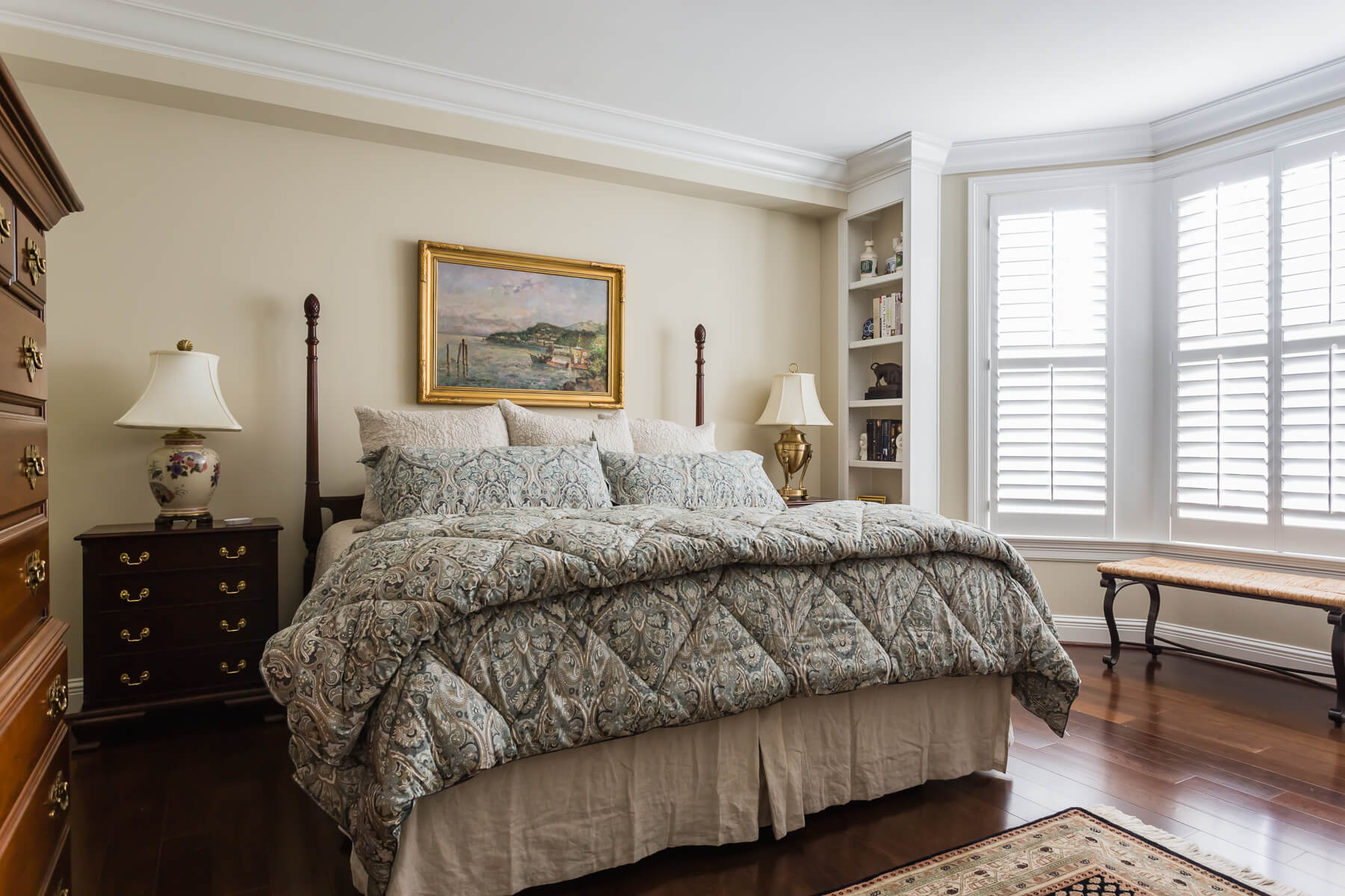 Master Bedroom Pottery Barn Bedding Traditional Raleigh Nc Interior Design