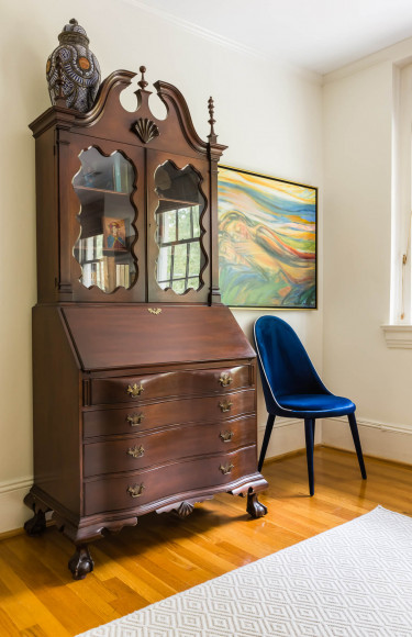 Master Bedroom Secretary Desk Nook