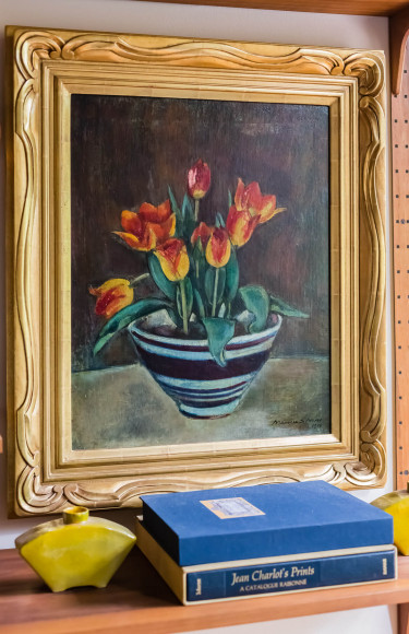 Mid Century Art Painting