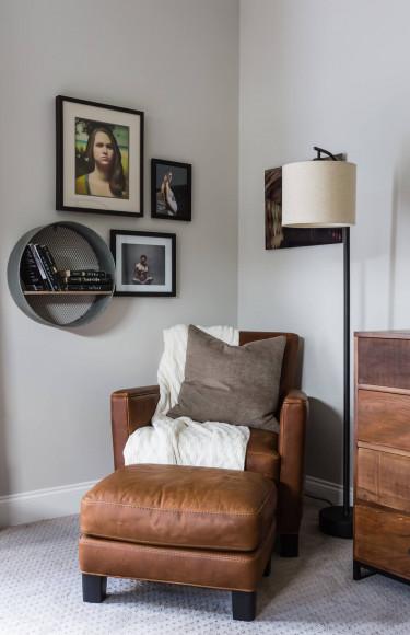 Modern Farmhouse Master Bedroom Reading Nook