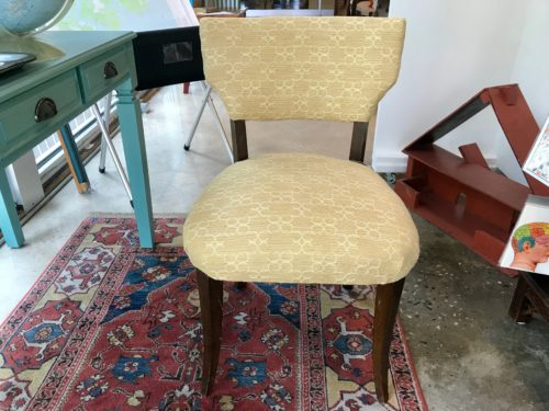 Yellow Side Chair