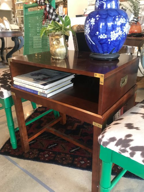 Bombay Campaigne Side Table
