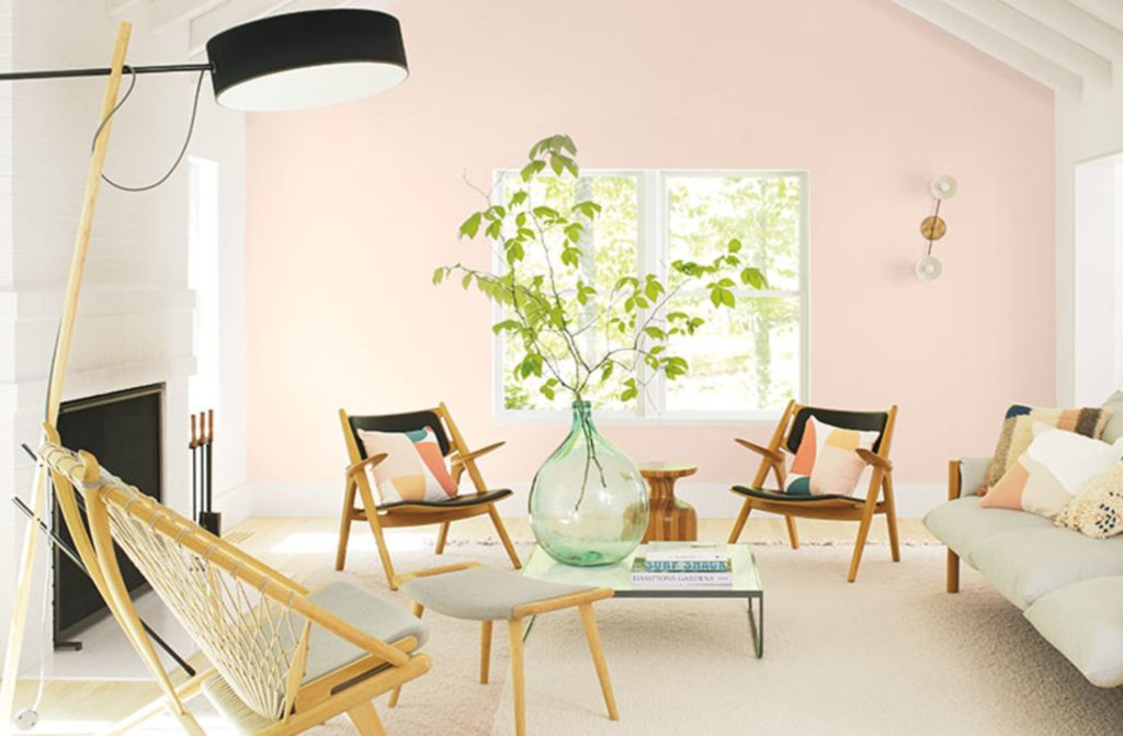 Benjamin Moore First Light Pink Paint Design Trends