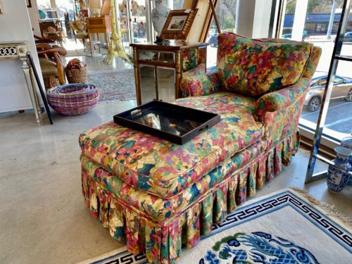 Floral Chaise