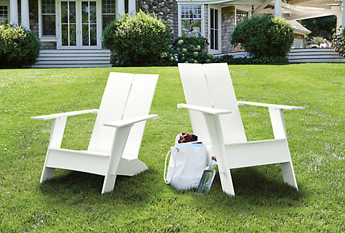 High Density Polyethylene Recycled Plastic Outdoor Chairs sustainable design trends