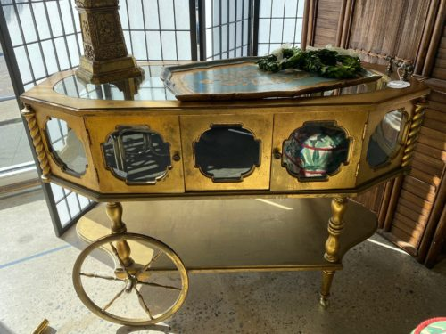 Sr Italian Bar Cart
