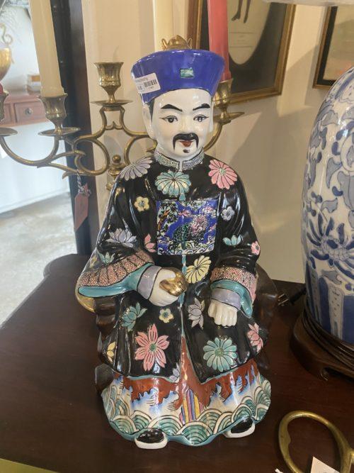 Cc Vintage Famille Chintz Figurine Statue