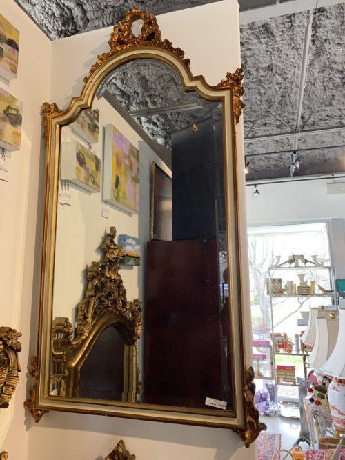 Gilt Gold And Cream Mirror