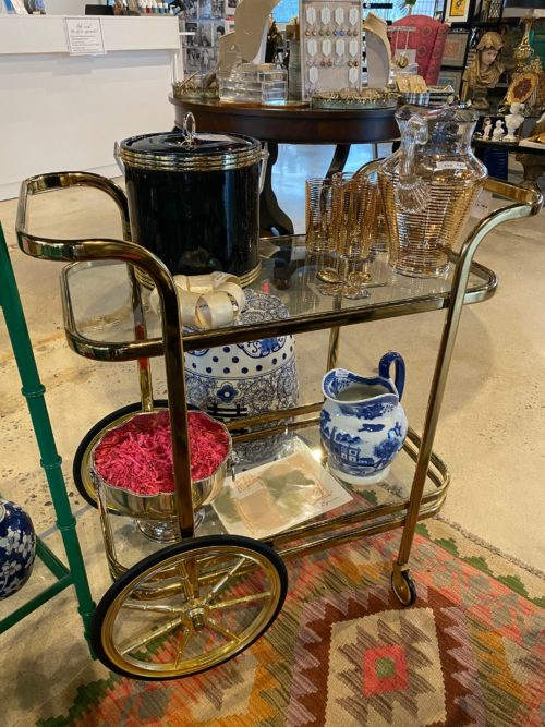 CC Vtg Bar Cart