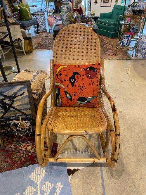 SH Bamboo Rocking Chair