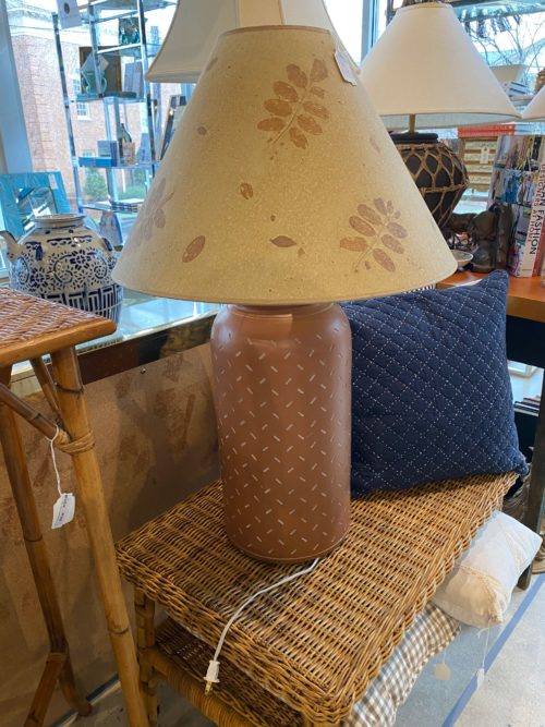 SG 70s Pottery Lamp