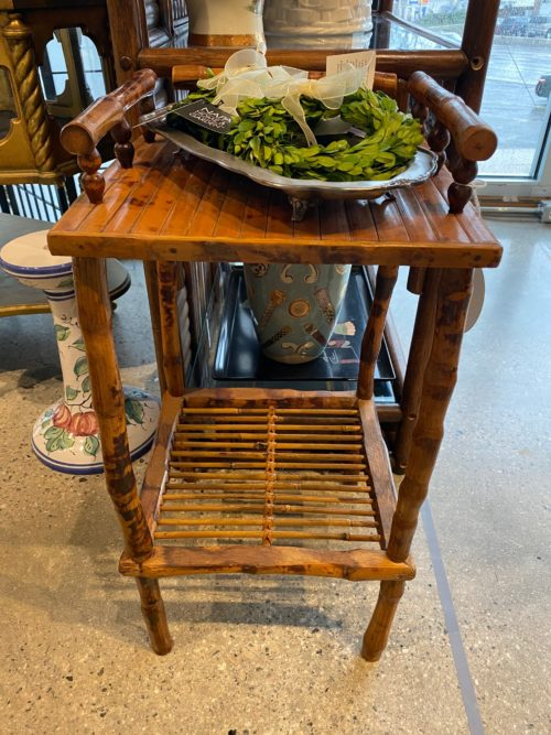 SR Bamboo Accent Table