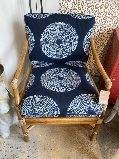 Mcguire Vintage Bamboo Chairs Cushions