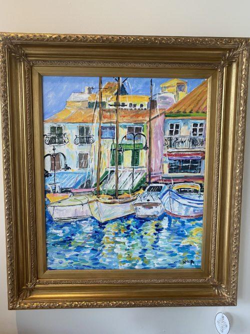 Sr Becca Sailboat Painting