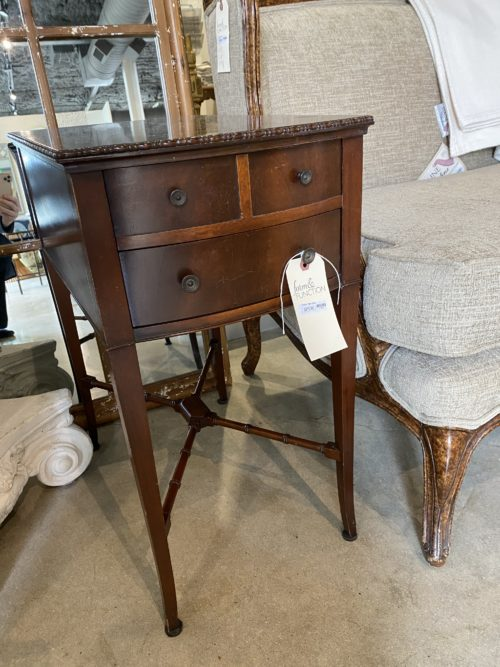 Vintage Drawer Side Table