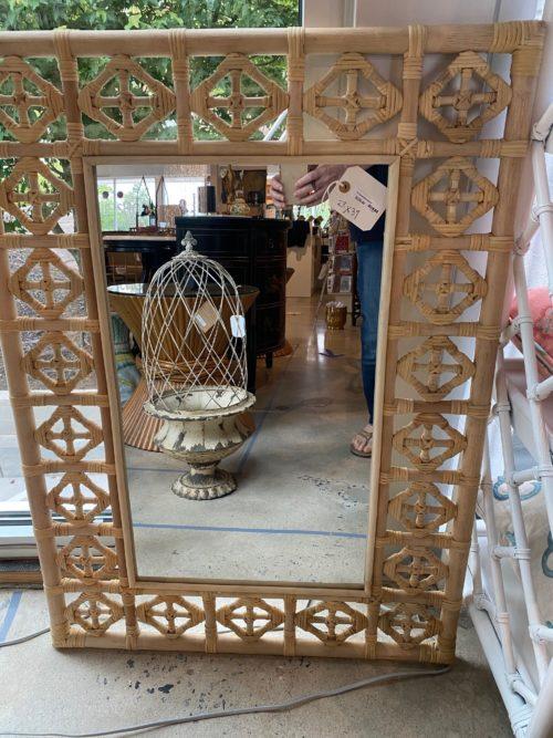 Al Kenian Bamboo Mirror