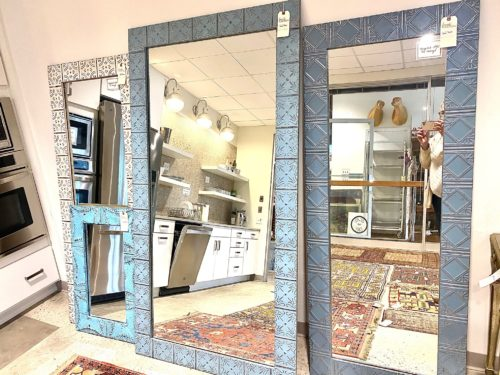 Tin Ceiling Tile Mirror