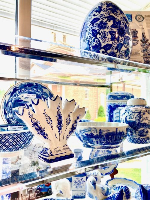 Blue White Chinese Asian Porcelain