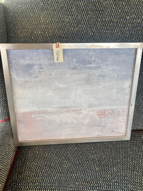 Modern Grey Neutral Abstract Painting
