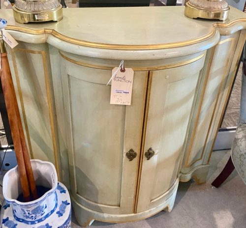 Baker Furniture Curved Narrow Hall Chest