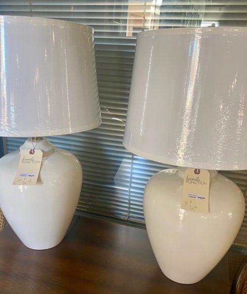 Creamy White Gourd Lamp