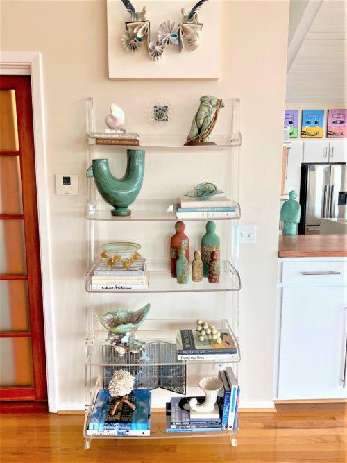 7 Bookshelf Inspiration Ideas Lucite Etagere