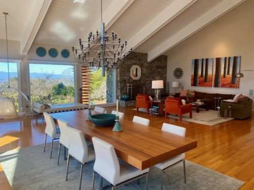 Modern House Wood Beam Ceiling White Paint Changes Everything