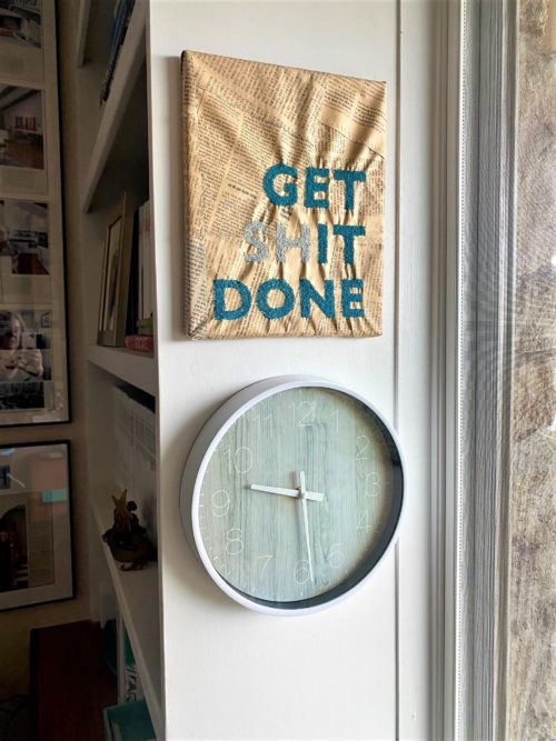 Get Shit Done Art