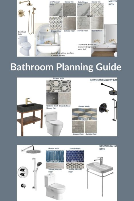 Bathroom Renovation Planning Fixtures And Tile