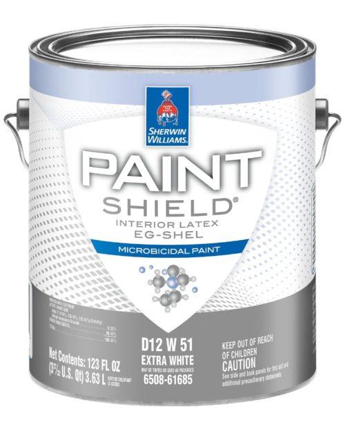 Sherwin Williams Paint Shield Microbicidal Interior Latex Paint