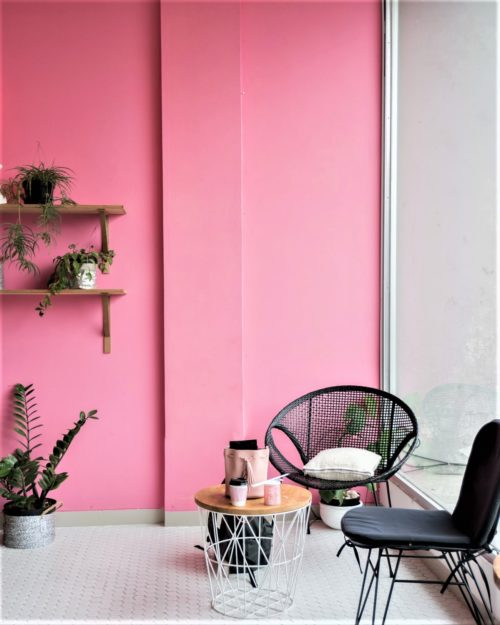 Colorful Pink Interior