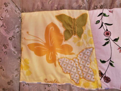 Family Memory Quilt Decorator Scrap Fabric