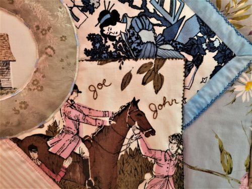 Family Quilt Scrap Fabrics