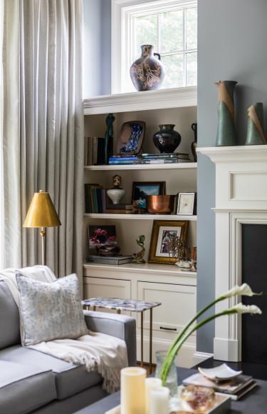 Bookshelf Styling Art Collection Books