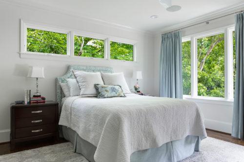 Master Bedroom Blue Grey Scheme