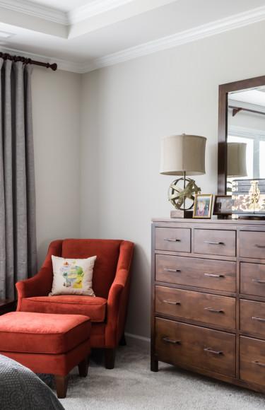 Modern Transitional Master Bedroom