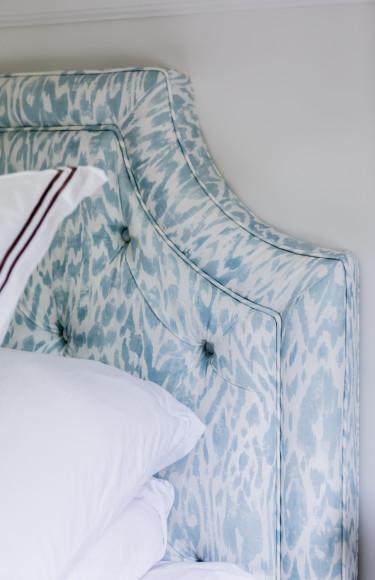 Thibault Carlotta Fabric Custom Upholstered Headboard